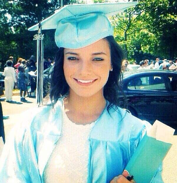 Veronika Khomyn completed her degree-Instagram image