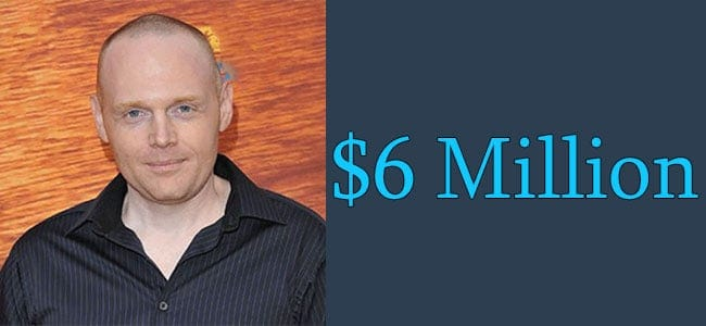 Bill Burr Net Worth is $6 Million