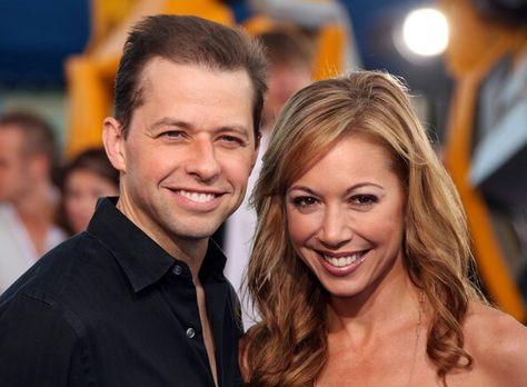 Lisa Joyner with her husband Jon Cryer