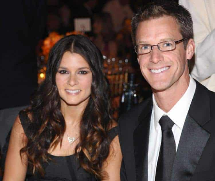 Paul Hospenthal with wife Danica Patrick(famousNASCAR driver