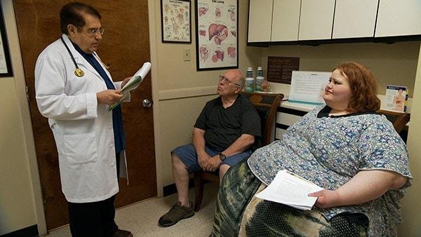 Dr Nowzardan Working in his Hospital