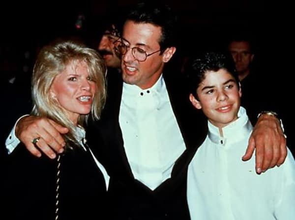 Sasha Czack with Ex-Husband Sylvester Stallone