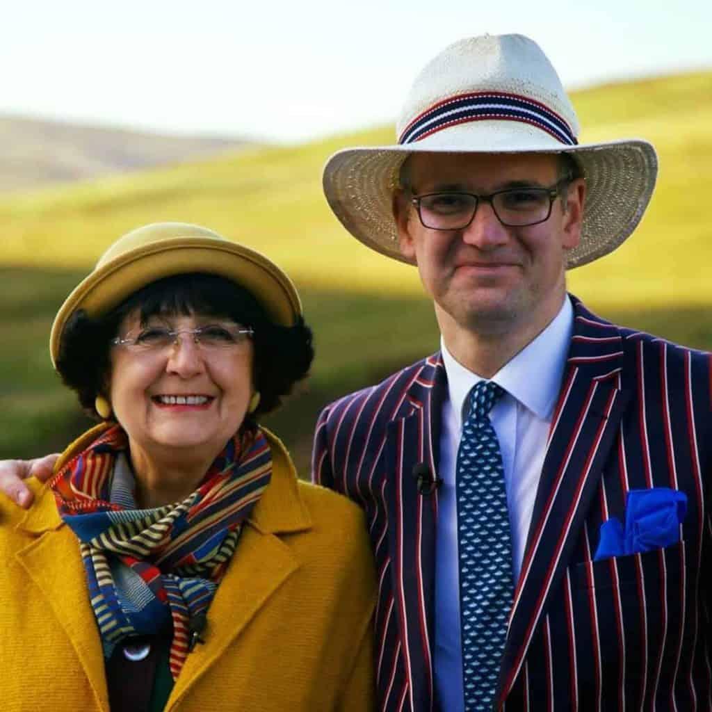 Anita Manning with Husband