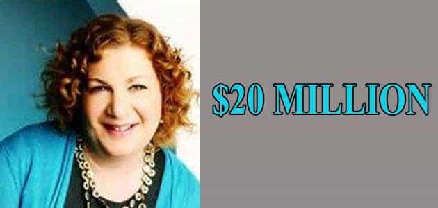 Alison Berns Stern is rich woman