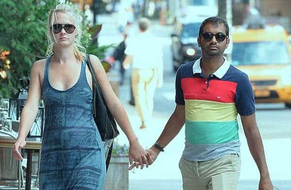 Aziz ansari dating white girl