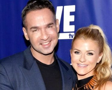 Jersey shore family vacation star Mike Sorrentino with his finace Lauren Pesce