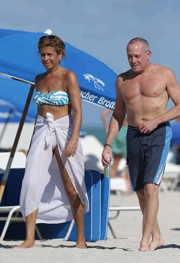 Image of Joel Schiffman with his girlfriend Hoda Kotb