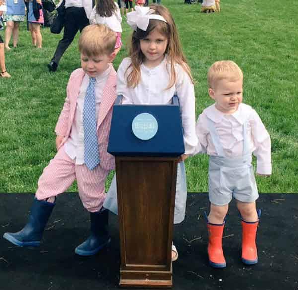Image of Sarah Huckabee sanders kids