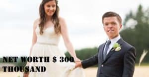 Image of Zachary Roloff net worth is $300 thousand