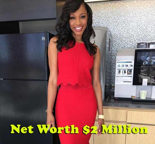 Image of Cari Champion net worth is $2 million