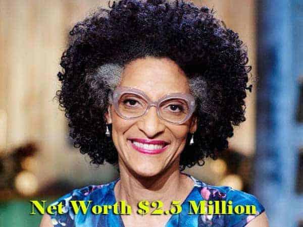 Image of Carla Hall net worth is $2.5 million