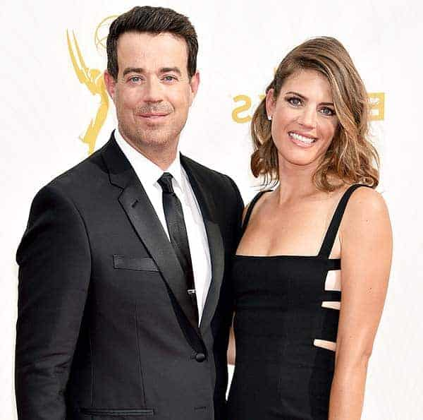 Image of Carson Daly with his wife Siri Pinter