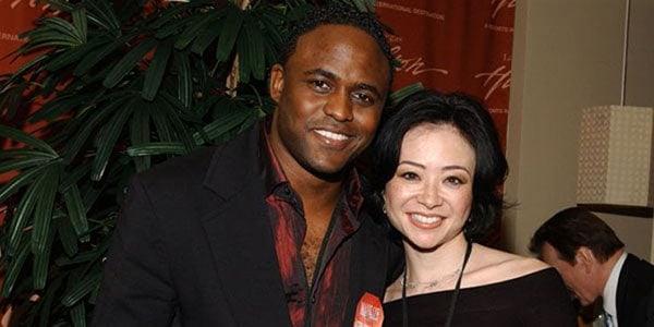 Image of Diana Lasso with her ex-husband Wayne Brady