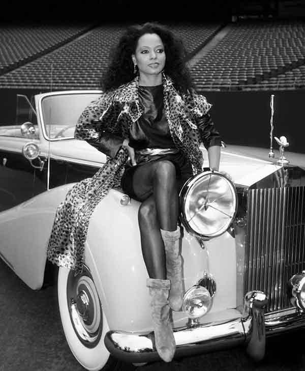 Singer, Diana Ross cars
