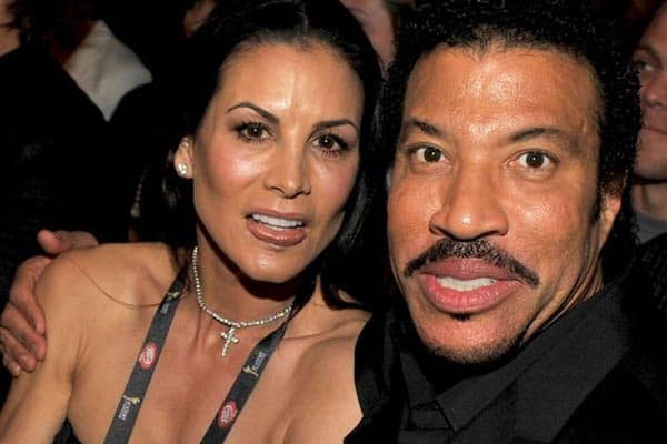 Image of Diane Alexander with her husband Lionel Richie