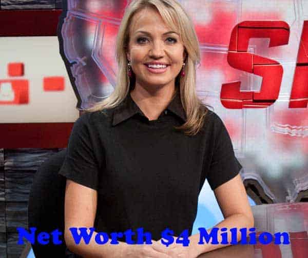 Image of Michelle Beadle net worth is $4 million
