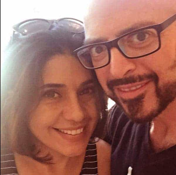 Image of Minoo Rahbar with her husband Jackson Galaxy
