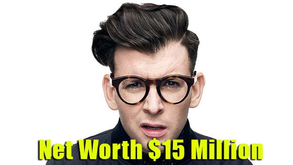Image of Moshe Kasher net worth is $15 million