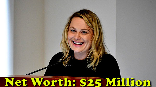 Image of Actor, Amy Poehler net worth is $25 million
