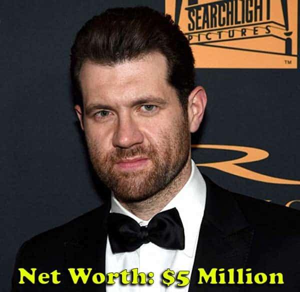 Billy Eichner net worth is $5 million