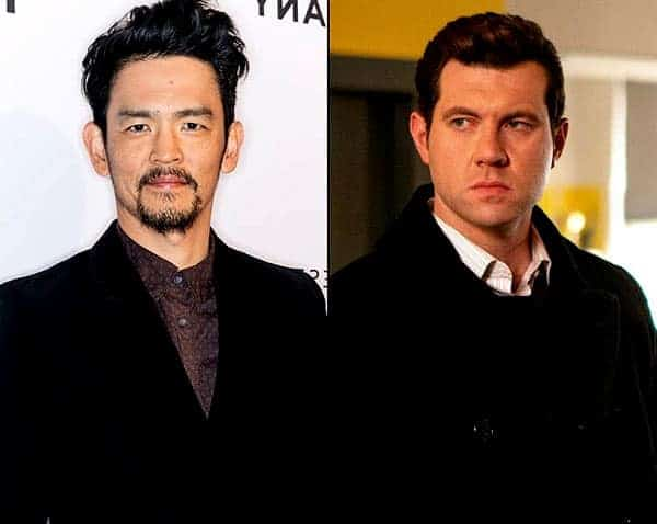 Billy Eichner with his partner Johnny Cho