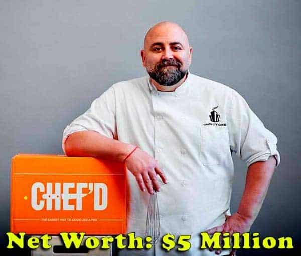 Image of Chef, Duff Goldman net worth is $5 million