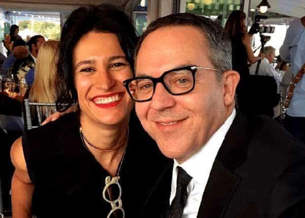 Image of Elena Moussa with her husband Greg Gutfeld