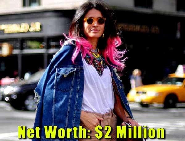 Image of Journalist, Elena Moussa net worth is $2 million