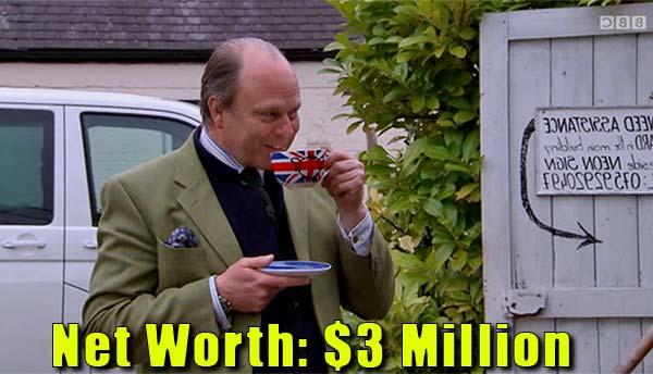Image of James Braxton net worth is $3 million
