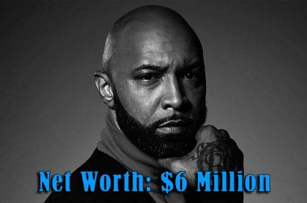 Image of Rapper Joe Budden net worth is $6 million