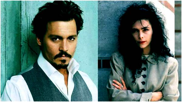 Image of Lori Anne Allison with her ex-husband Johnny Depp.
