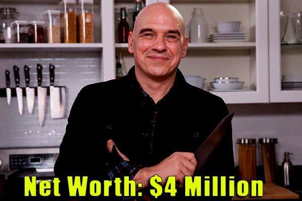 Image of Michael Symon's net worth is $4 million