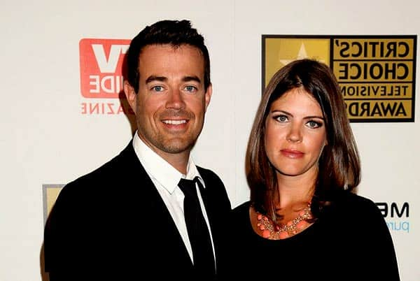 Image of Siri Printer with her husband Carson Daly
