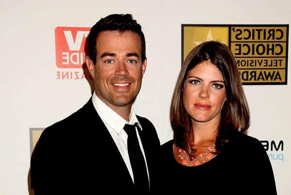 Siri Printer with her husband Carson Daly