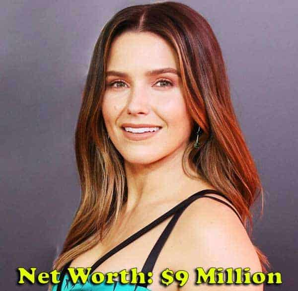 Image of Sophia Bush net worth is $9 million