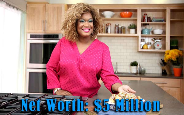 Image of Chef Sunny Anderson net worth is $5 million