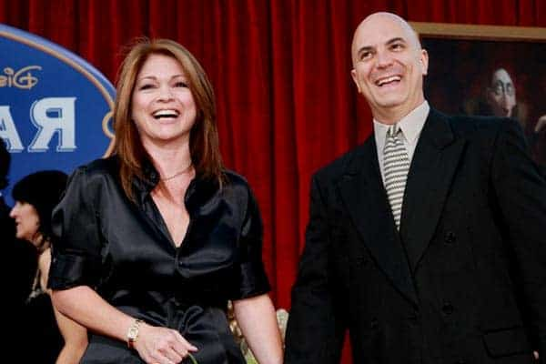 Tom Vitale with his wife Valerie Bertinelli