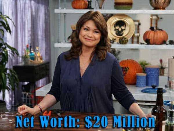 Image of Chef Valerie Bertinelli net worth is $20 million
