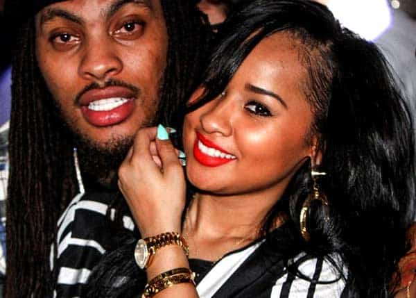 Image of Rapper Waka Flocka with his wife Tammy Rivera