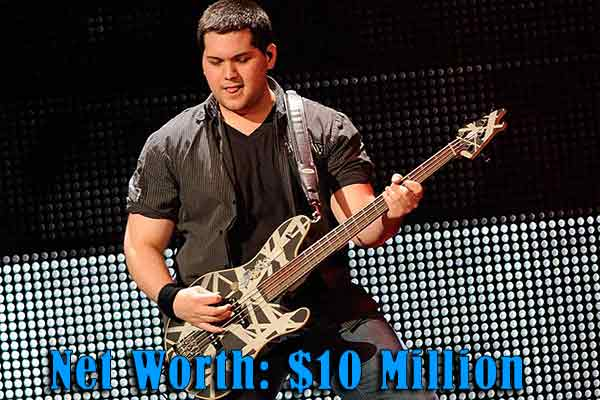 Image of Wolfgang Van Halen net worth is $10 million