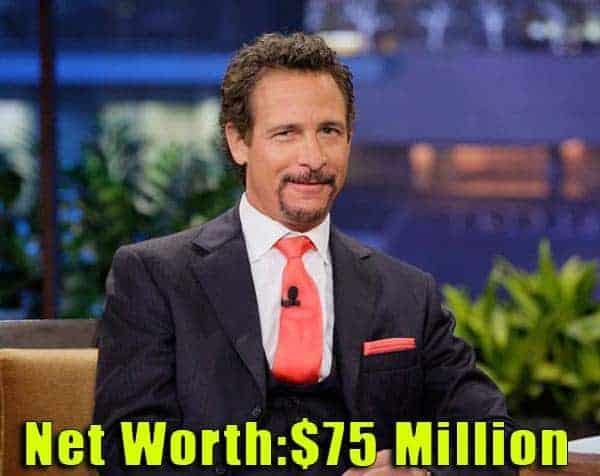 Image of Journalist, Jim Rome's net worth is $75 million