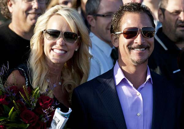 Image of Jim Rome's with his wife Janet Rome