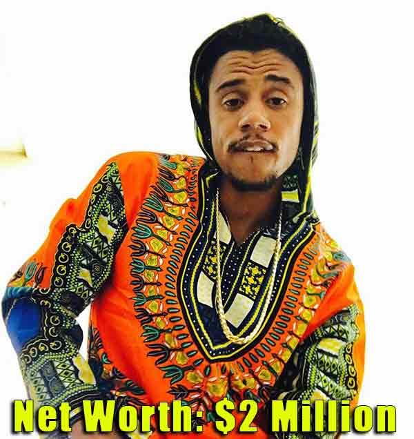 Image of Rapper, Lil Fizz net worth is $2 million