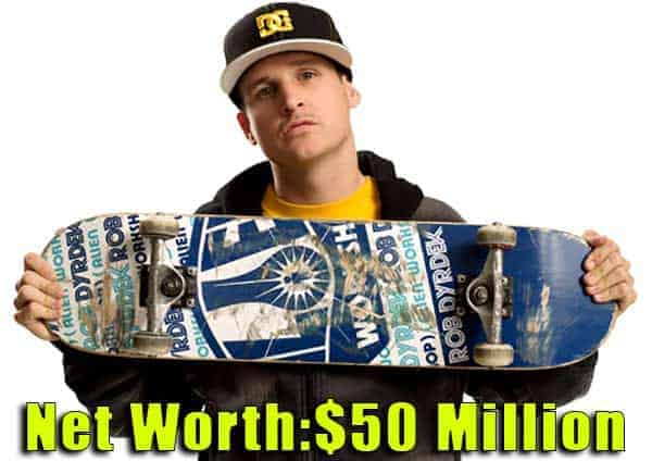 Image of Skateboarder, Rob Dyrdek net worth is $50 million