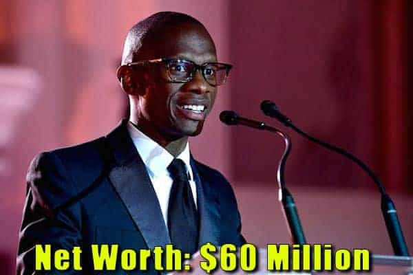 Image of Television producer, Troy Carter net worth is $60 million