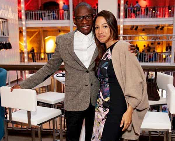 Image of Troy Carter with his wife Rebecca Carter