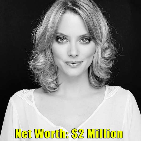 Image of Actor, April Bowlby net worth is $2 million