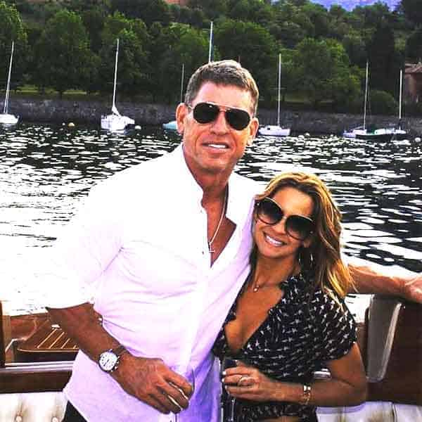 Image of Capa Mooty with her husband Troy Aikman