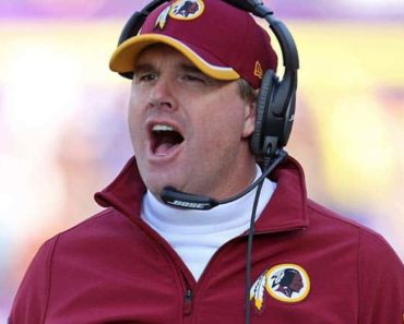 Image of Jay Gruden net worth, Salary, Wife, Age, Is Jay Gruden related to Jon Gruden