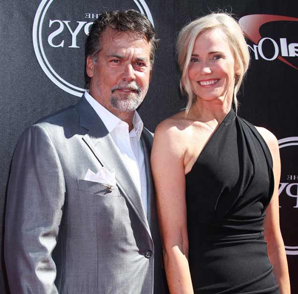Image of Jeff Fisher with his wife Juli Fisher